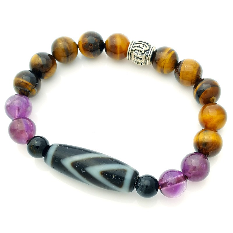 Feng Shui OLD Agate ONE Eye dZi Bead for Wisdom and Happiness