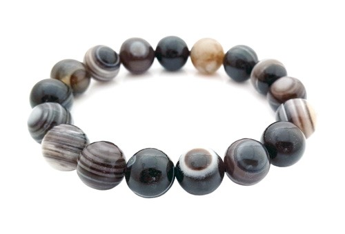 Onyx Crystal Bracelet - 12mm