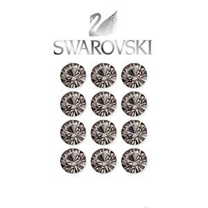 Swarovski Crystal Beads ( Black-Diamond ) - 2 Dozen per pack