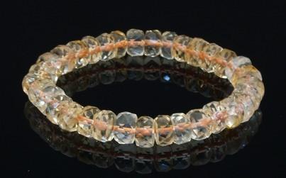 Natural Citrine Bracelet for Super Wealth - 10mm