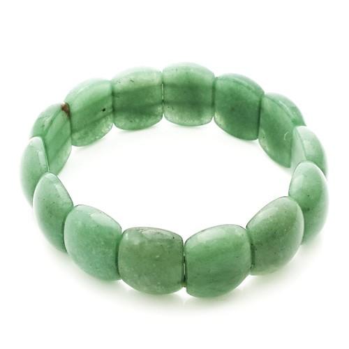 Natural Aventurine Quartz Crystal Bracelet