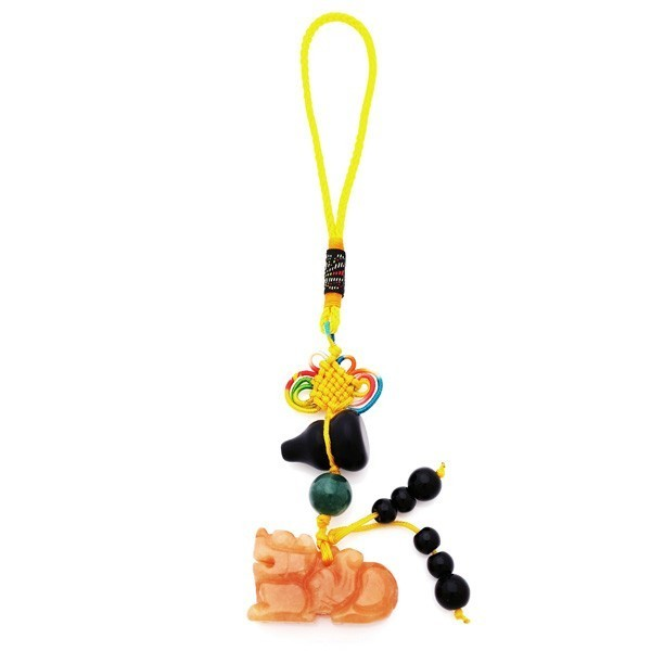 Pi Yao Tassel for Wealth and Protection - RED Aventurine