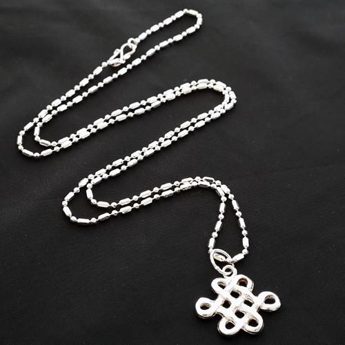 925 Silver Mystic Knot Pendant