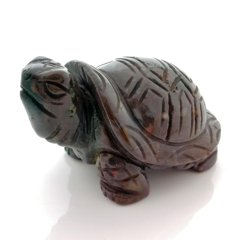 Natural Bloodstone Tortoise