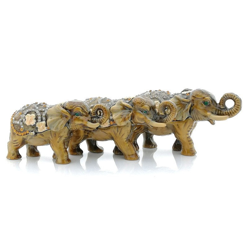 Bejeweled Three Elephants