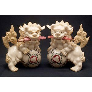 A Pair Of Fu Dogs For Protection