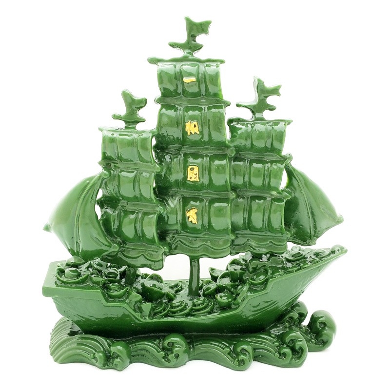Chinese Merchant ship of Prosperity and Wealth