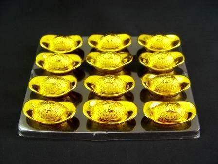 Golden Ingots - 12pcs per set