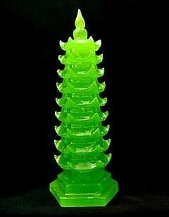 Green Wen Chang Pagoda