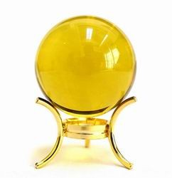40mm Citrine Crystal Sphere (Period 8 Enhancer)