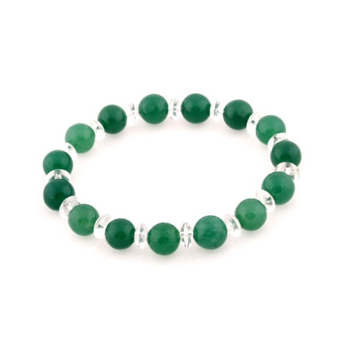 Aventurine Bracelet for Academy Luck - 10mm