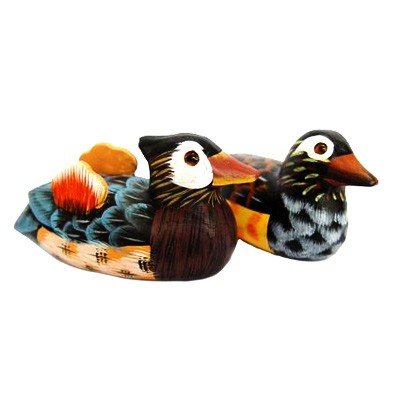 "4"" Mandarin Ducks"