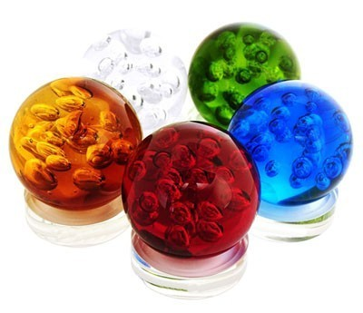 5 element Crystal Spheres (5 pieces per set)