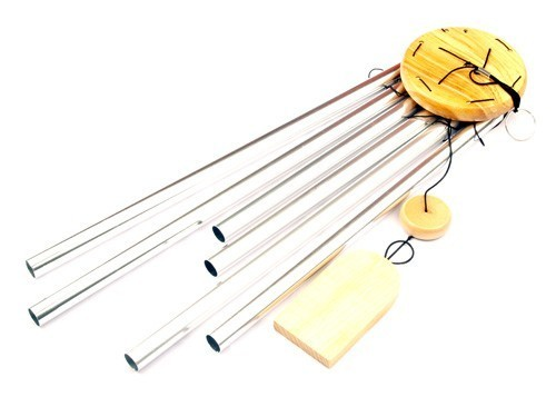 6-Rod Metal Wind Chime - Medium