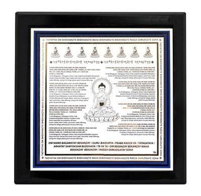 7-Medicine Buddha Plaque