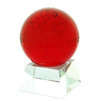 Amitabha RED Crystal Ball