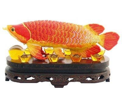 Bejeweled Arowana for Abundance and Prosperity