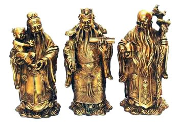 Extra Large Bronze Fuk Luk Sau