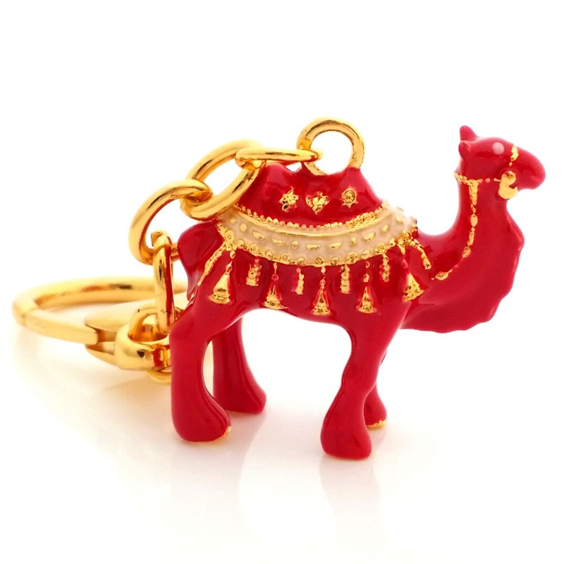 Double Humped Camel Amulet Keychain For Business Success And Big Profits