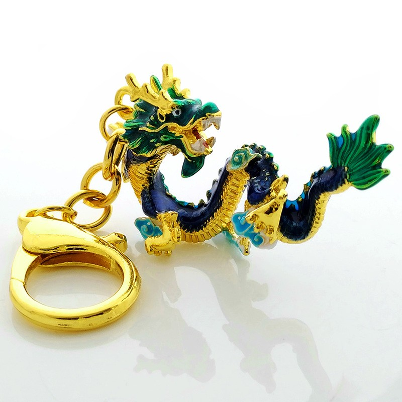 The Celestial Water Dragon Amulet