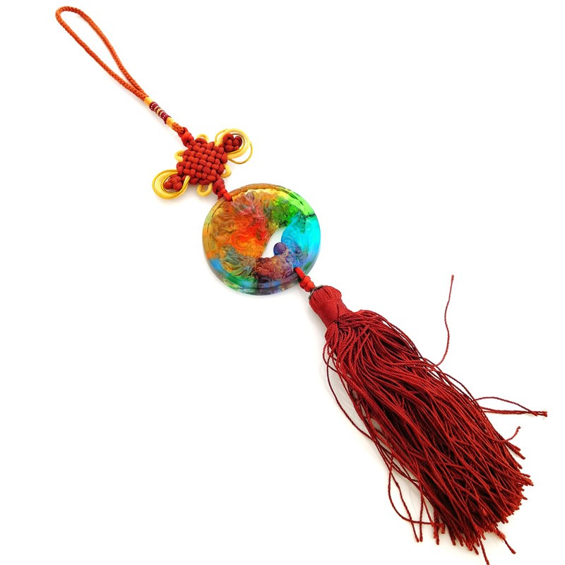 Dragon Crystal Tassel For Great Good Fortune