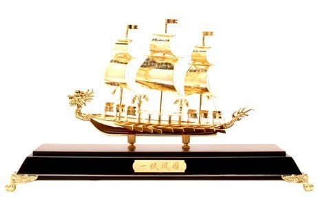 The Golden Dragon Boat For Business(SS-08GP)