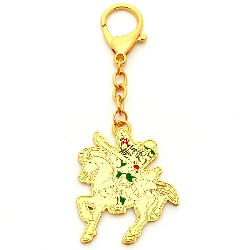 Kwan Kung On Horseback Anti Betrayal Amulet
