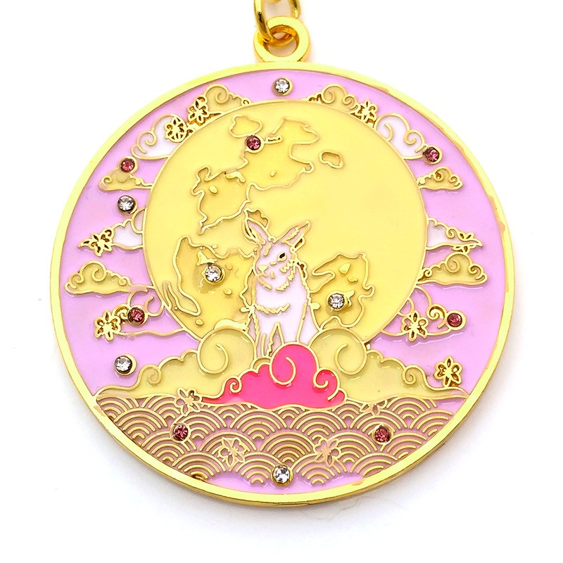 Love Amulet with Moon Rabbit
