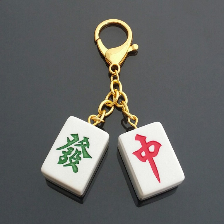 Lucky Mahjong Tiles Feng Shui Amulet For Wealth And Windfall Luck