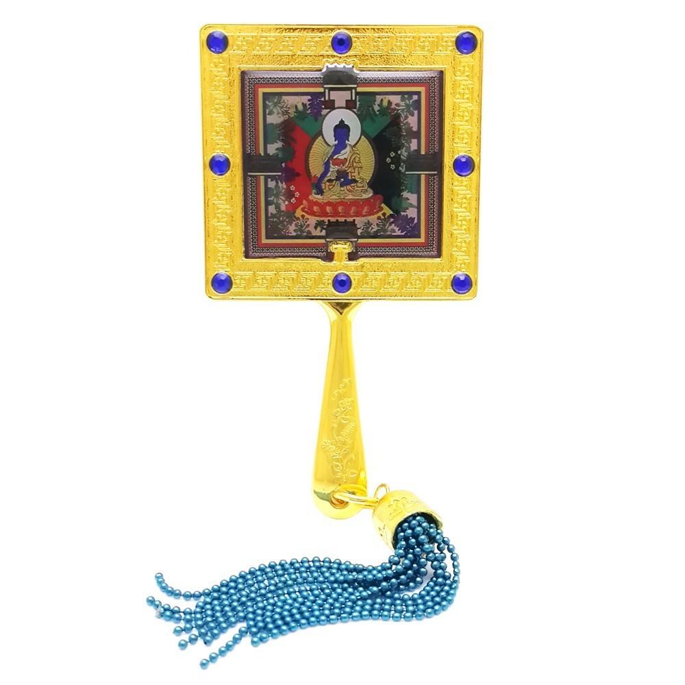 Medicine Buddha Mirror Amulet