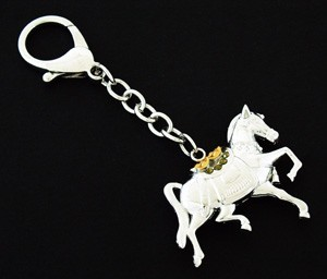Bejeweled Tribute Horse Keychain
