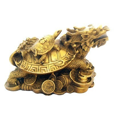 Dragon Tortoise for Great Good Fortune