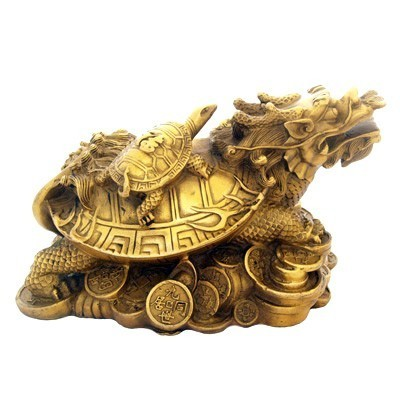 Bronze Dragon Tortoise - Large