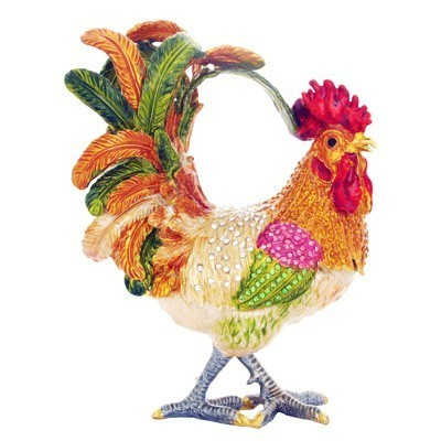 Bejeweled Rooster - LARGE