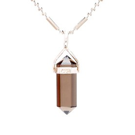 Smoky Quartz Point Pendant for Creativity