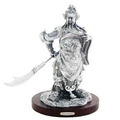 Pewter Kwan Kung Figurine