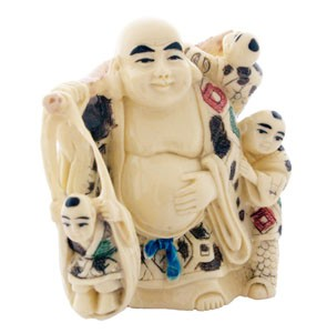 The Laughing Buddha With Children