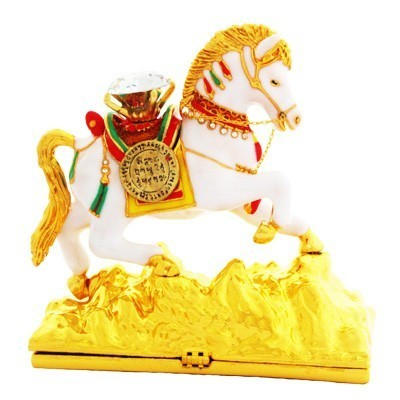 Bejeweled Wind Horse