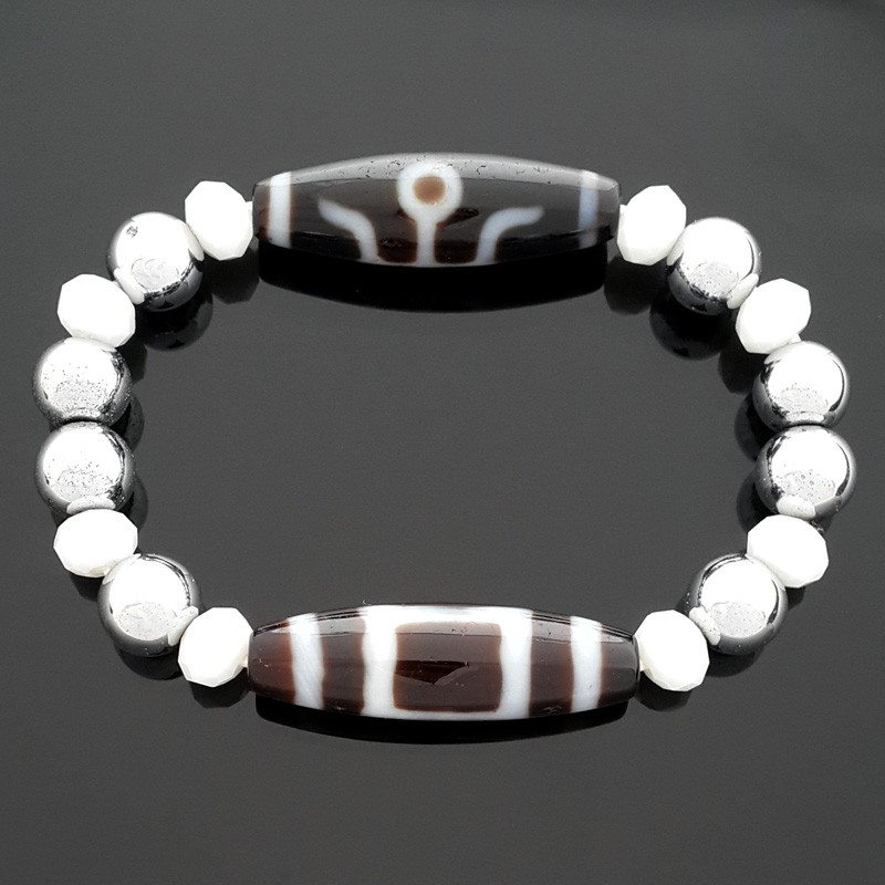 The Ultimate Feng Shui Dzi Bead Bracelet