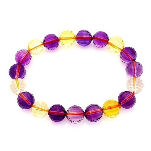 Ametrine Faceted Bracelet