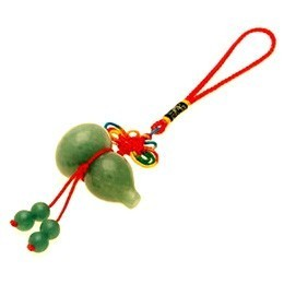 Aventurine Wu Lou Tassel For Health and Wealth Luck