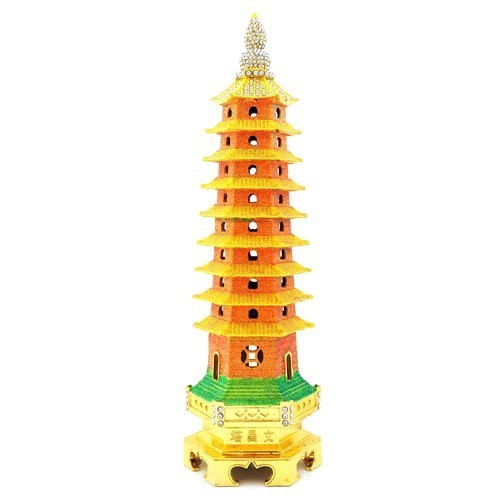 Bejeweled 9-Level Wen Chang Pagoda for Career LUCK