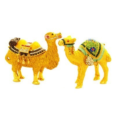 A Pair of Bejeweled Camels to Safeguard Cash Flow