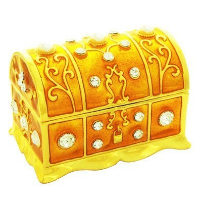 Bejeweled Treasure Box