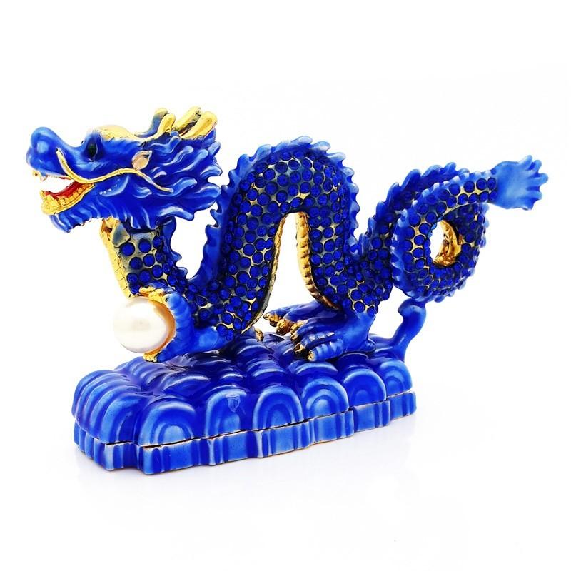 Bejeweled Water Dragon