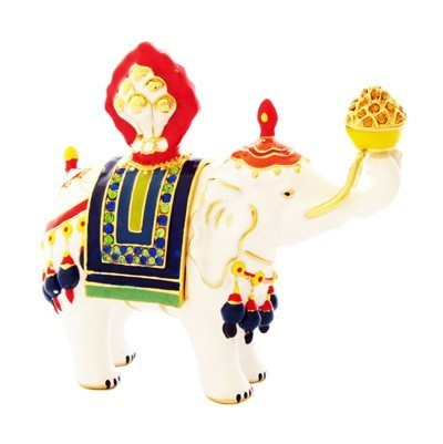 Bejeweled Elephant Carrying Jewel