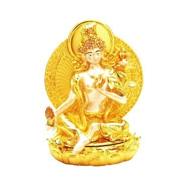 Bejeweled Fertility Tara( WHITE TARA )