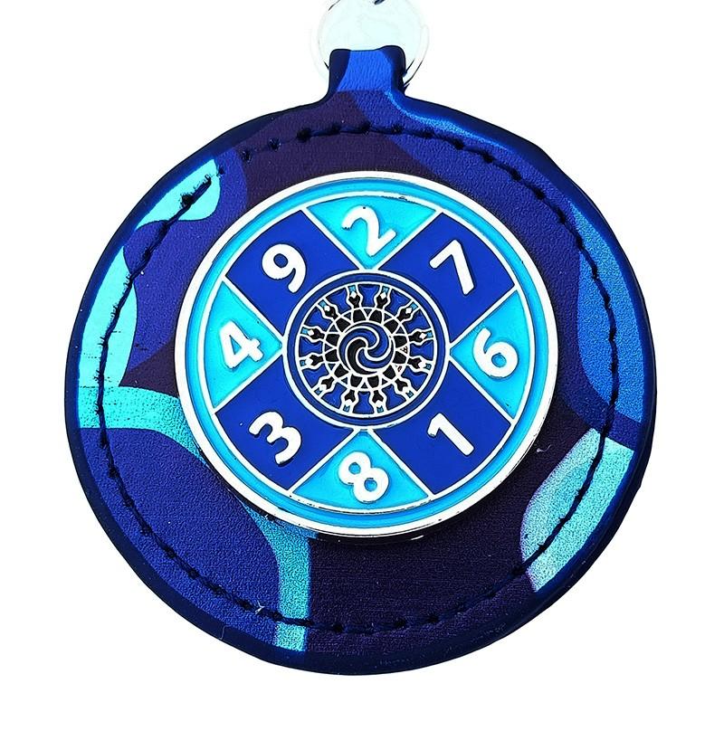 The Blue Sum of Ten Amulet
