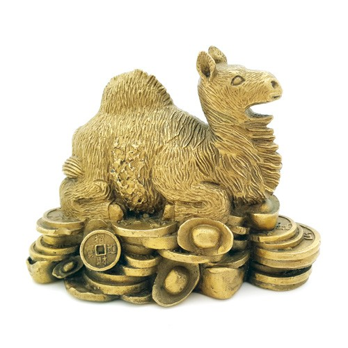 Bronze Camel for Financial Gain