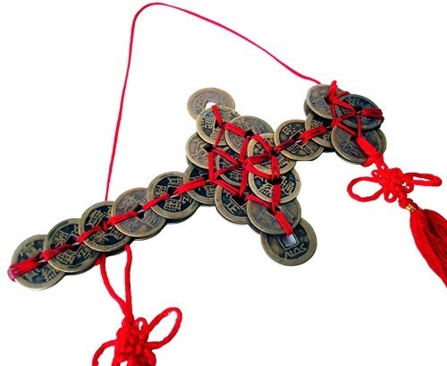 Hanging Chinese Coin Sword